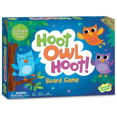 Hoot Owl Hoot!: A Co-operative Game for Kids