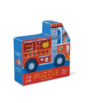 Fire Engine #5 Two-Sided 24pc Puzzle