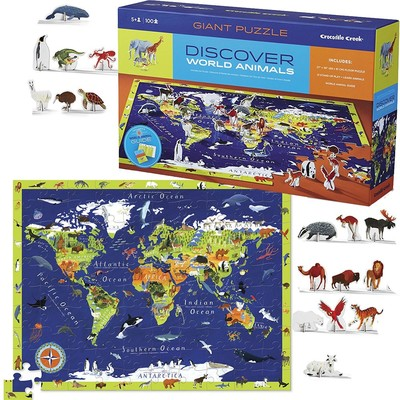 Discover the World 100pc Puzzle + Play