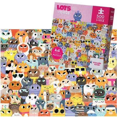 Lots of Cats 500pc Puzzle