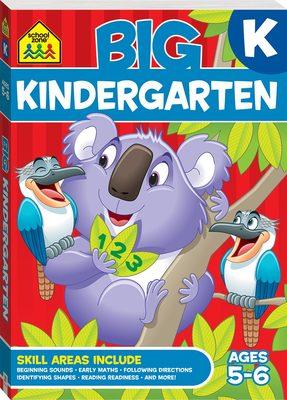 Kindergarten: Ages 5-6 (School Zone: Big Workbook)