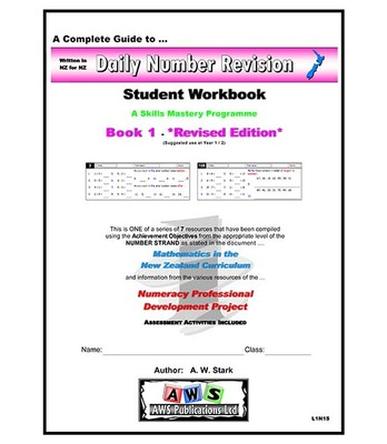 Daily Number Revision Maths Student Workbook 6