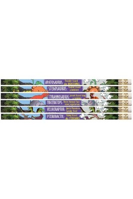 MP800 Dinosaurs Pencils Pack of 10 with eraser - ATA