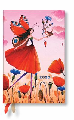 Poppy Field 2020 Mini Verso Week-at-a-Time