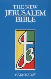 New Jerusalem Bible Pocket Edition