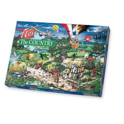 Gibsons I Love the Country 1000pc Puzzle