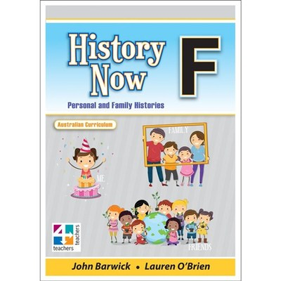 History Now Book F - The Australian Colonies - AC - T4T