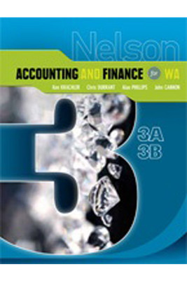 Nelson Accounting & Finance For WA 3A-3B
