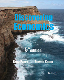 Discovering Economics Units 1 & 2 Year 11 - 5th Edition - Tactic Publications
