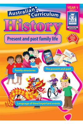 AC History Year 1 Ages 6-7 RIC-6441