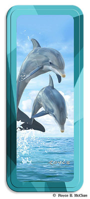Pencil Tin Dolphin Jumpers