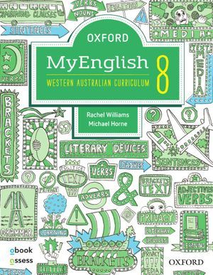 Oxford MyEnglish 8 for WA Curriculum  1st E                  SB + obook/assess + Upskill - Oxford