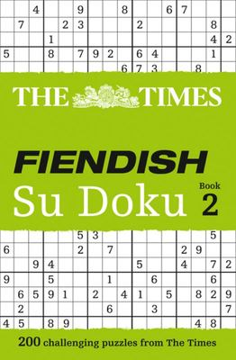 Times Fiendish Su Doku Book 2