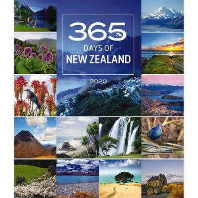 365 Days in New Zealand 2020 Deluxe Wall Calendar