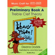 Music Craft for COOL CATS Preliminary Book A, Treble Clef Theory