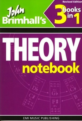 Theory Notebook 3 books in 1 Revised Edition - 17723