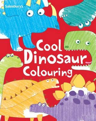 Cool Dinosaur Colouring Book