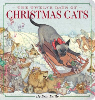 The Twelve Days of Christmas Cats