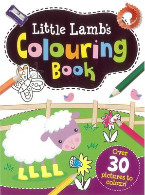 Little Lamb's Colouring Book