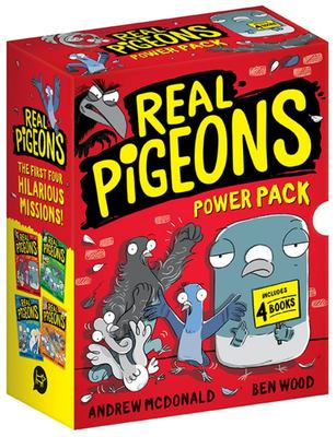 Real Pigeons Power Pack - box set books 1-4