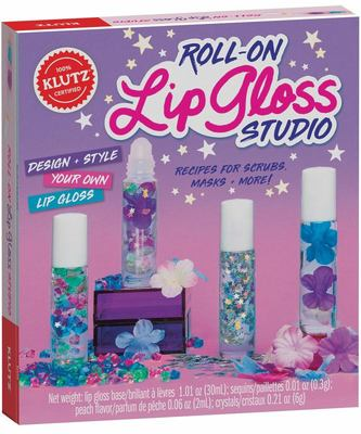 Klutz: Roll on Lip Gloss Studio