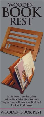 Wooden Book Rest (WB-01)