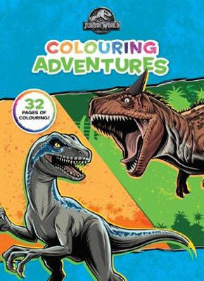 Jurassic World - Colouring Adventures