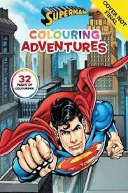 Superman - Colouring Adventures