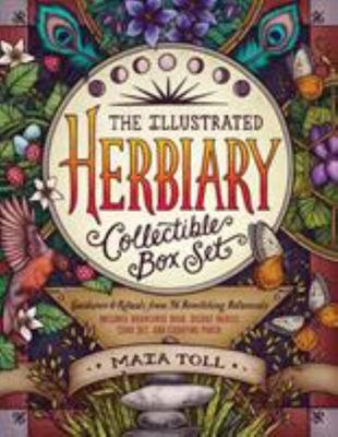 The Illustrated Herbiary - Guidance and Rituals from 36 Bewitching Botanicals; Includes Hardcover Book, Deluxe Oracle Card Set, and Carrying Pouch