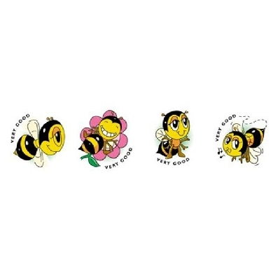 MS061 Bees Merit Stickers Pack of 96 - ATA