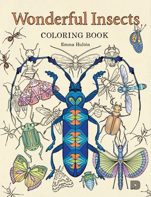 Wonderful Insects Colouring Book