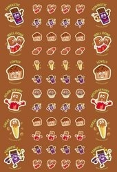 SS1016 Chocolate Stickers Scentsations  - ATA