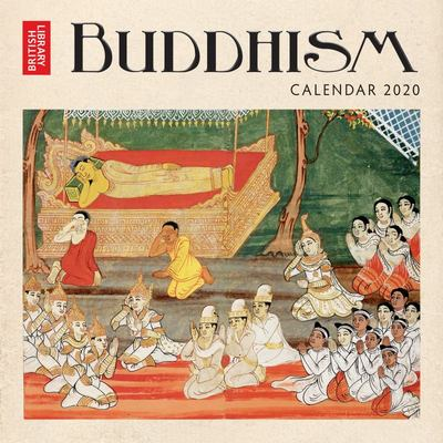 2020 British Library - Buddhism Wall Calendar