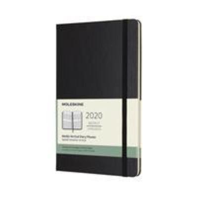 2020 Weekly Vertical Black Large Hardcover Diary Moleskine