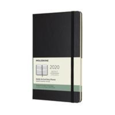 2020 Weekly Vertical Black Large Hardcover Diary Moleskine