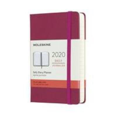 2020 Daily Snappy Pink Pocket Hardcover Diary Moleskine