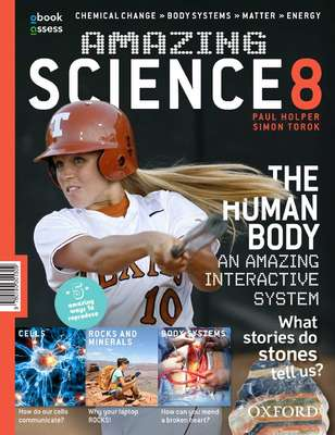 Amazing Science 8 AC Student Book + obook assess - Oxford