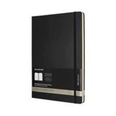 2020 Professional Weekly Vertical Black A4  Hardcover Diary Moleskine