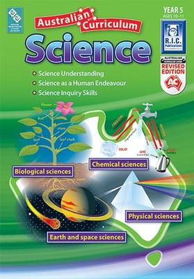 Australian Curriculum Science - Year 5 Ages 10-11