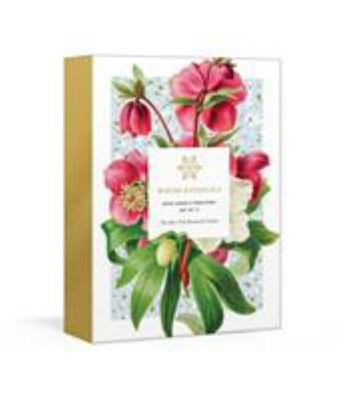 Winter Botanicals - 12 Note Cards and Envelopes