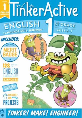 TinkerActive Workbooks: 1st Grade English