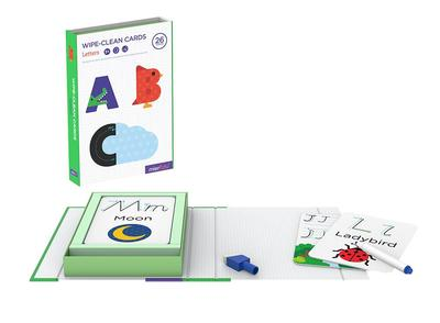 Letters: Wipe-Clean Activity Set Card