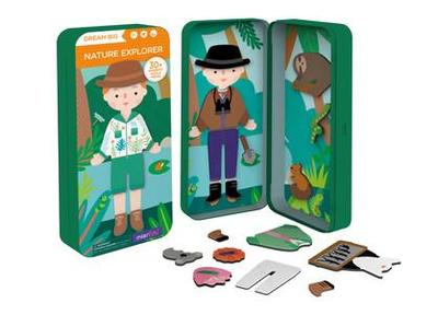 Nature Explorer: Magnetic Puzzle Box