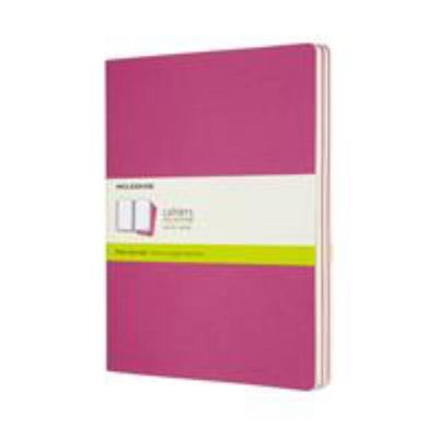 Moleskine - Cahier - Journal PLAIN Extra LG Kinetic Pink