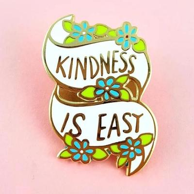 Jubly Lapel Pin - Kindness Is Easy