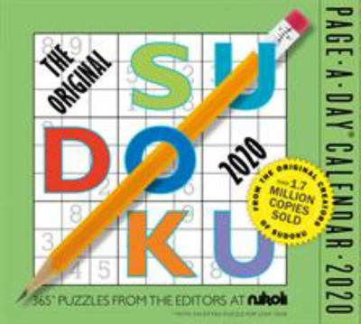 2020 The Original Sudoku Page-a-Day Calendar (W06293)