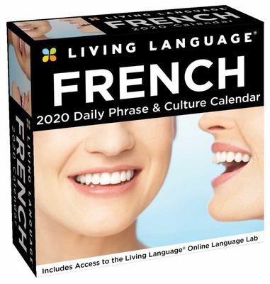 2020 French Living Language Day-To-Day Calendar