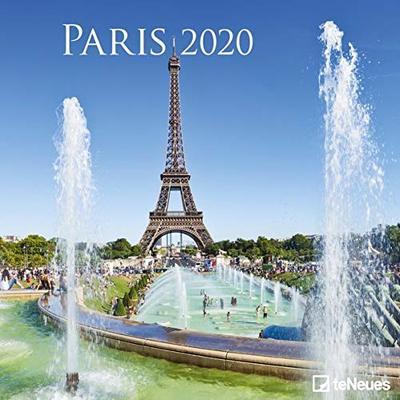2020 Paris Calendar