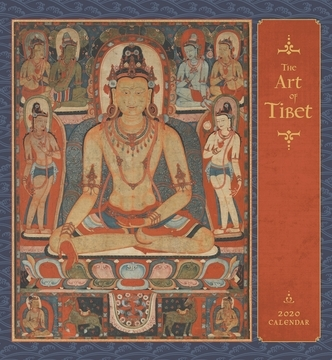 Art of Tibet 2020 Wall Calendar