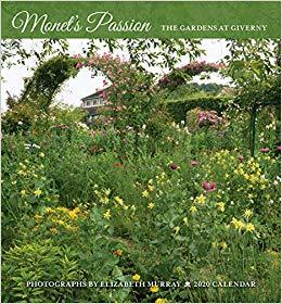 Monets passion 2020 mini calendar